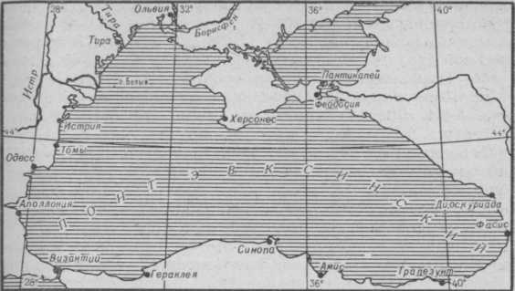 морская лоция Понта