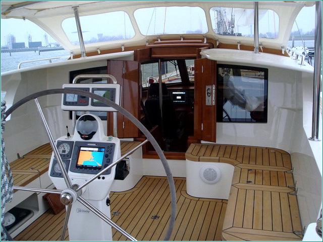 навигационное оборудование для яхты