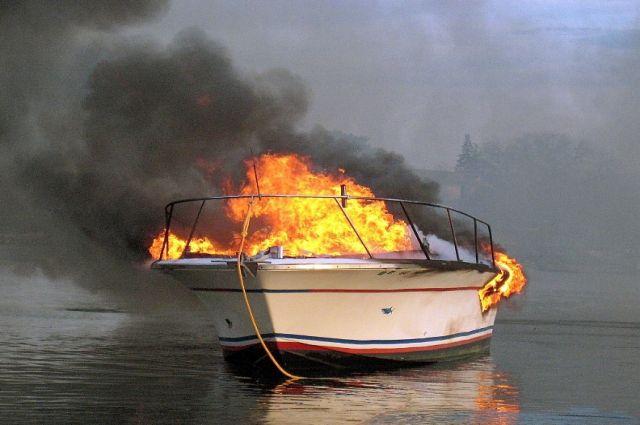 безопасность мореплавания - пожар на судне