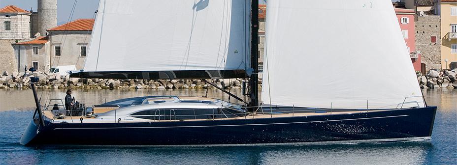 Парусная яхта Shipman 72