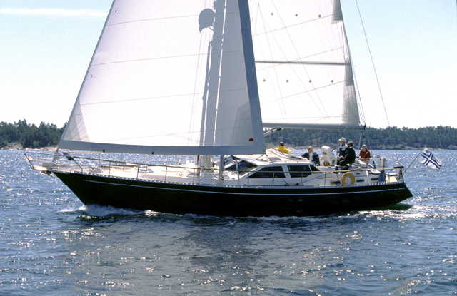 Парусная яхта Nauticat 515