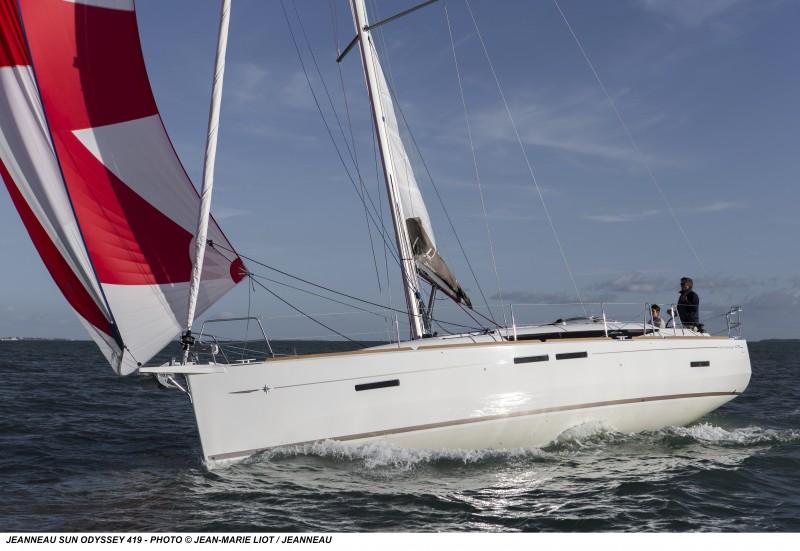 Парусная яхта Jeanneau Sun Odyssey 419