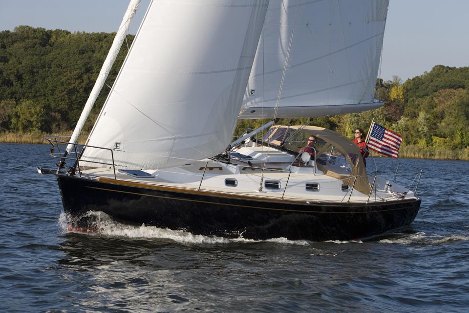 Парусная яхта Tartan 3400