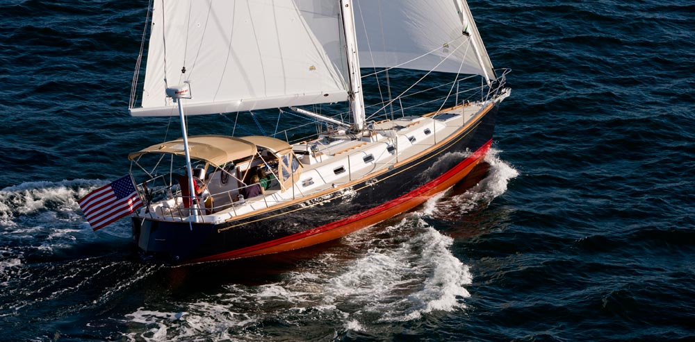 Парусная яхта Tartan 4300