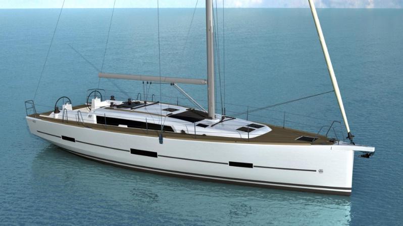 Парусная яхта Dufour Grand Large 460