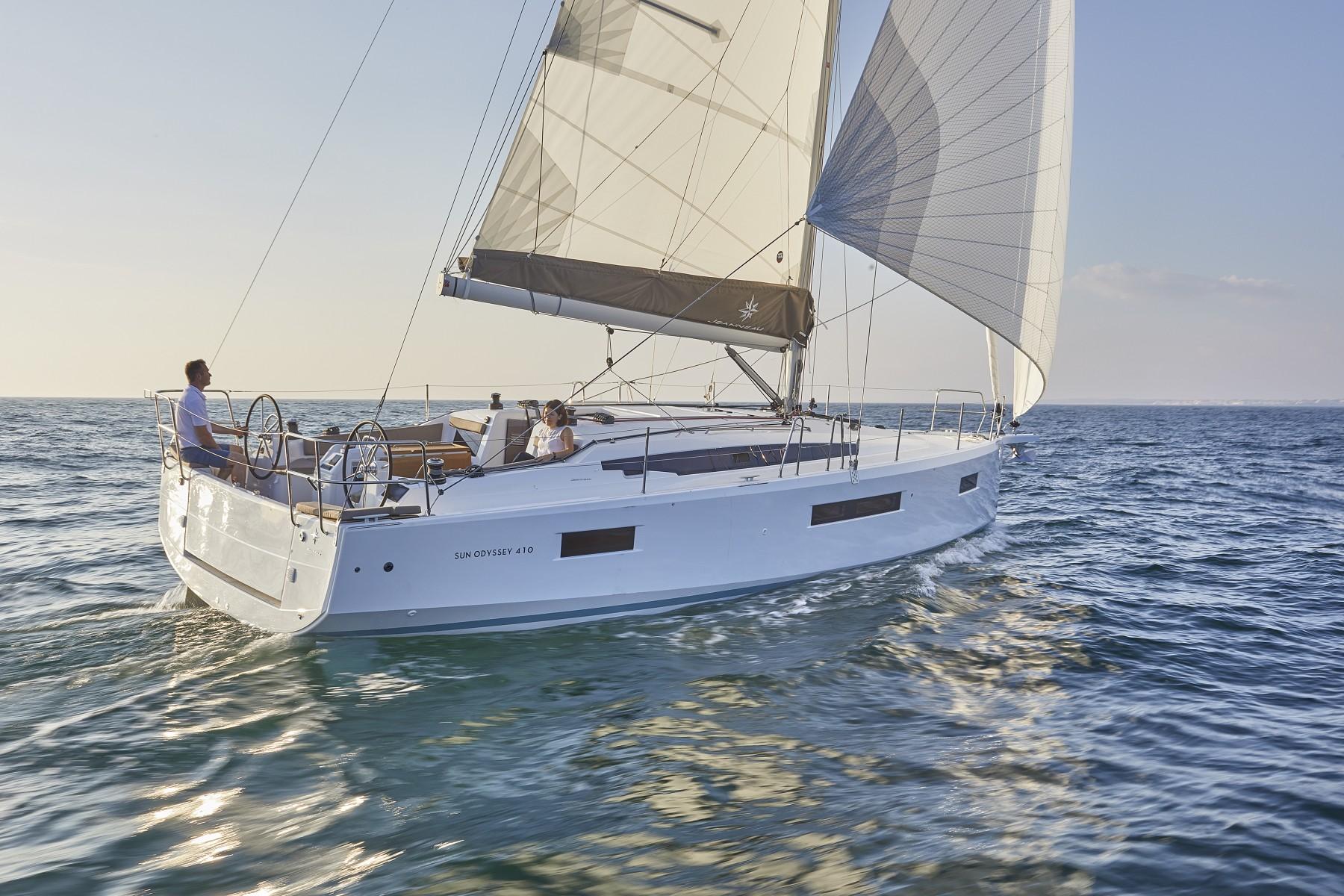 Парусная яхта Jeanneau Sun Odyssey 410