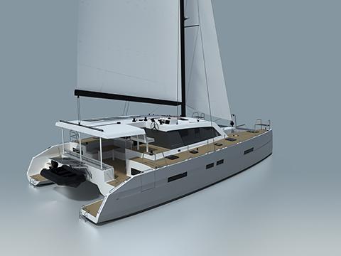 Парусная яхта Garcia EXPLOCAT 52