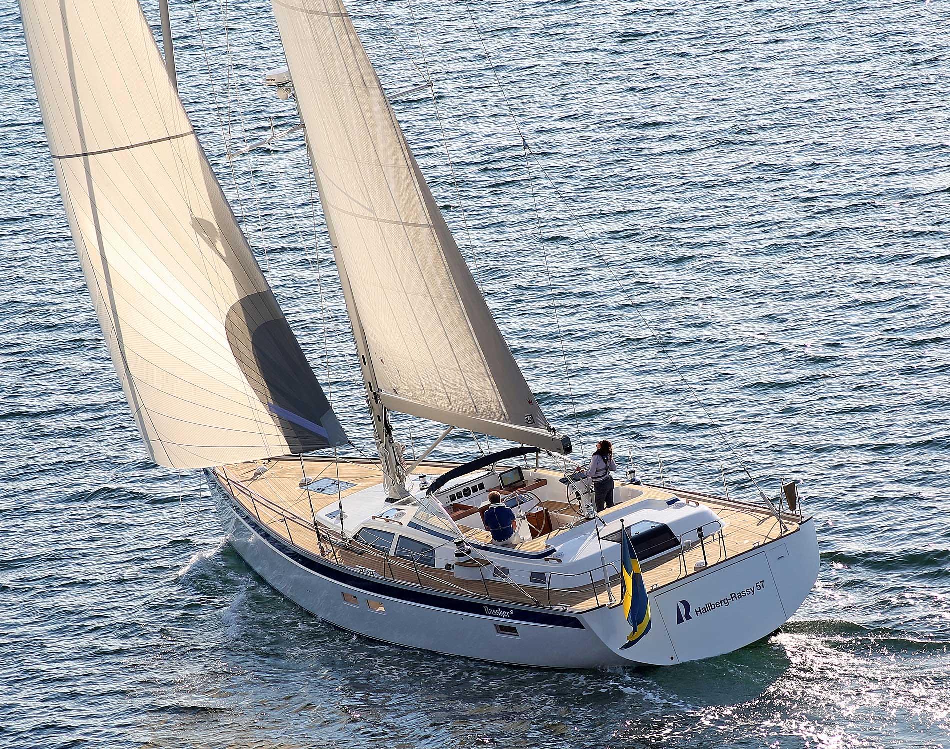 Парусная яхта Hallberg-Rassy 57