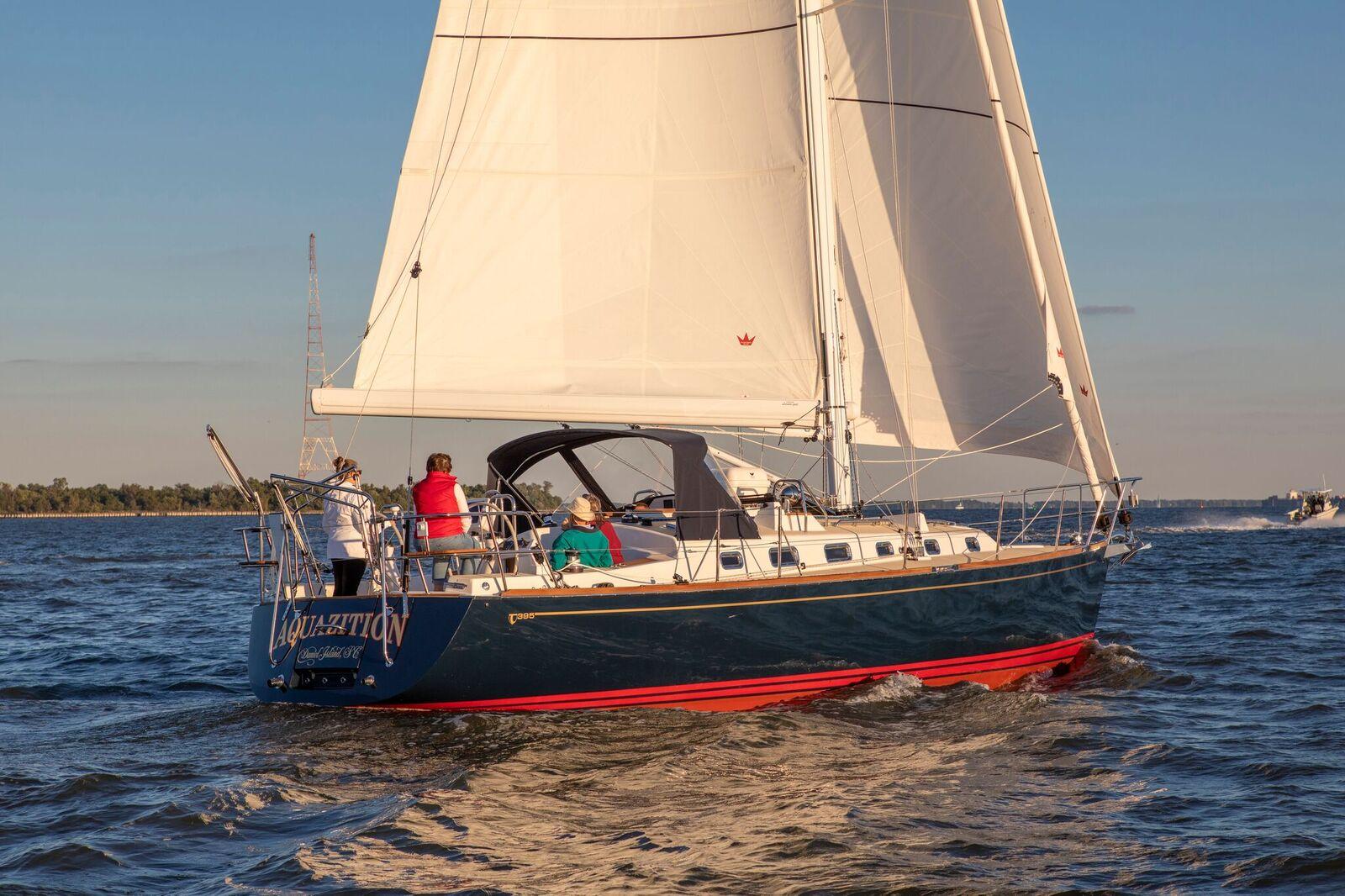 Парусная яхта Tartan 395
