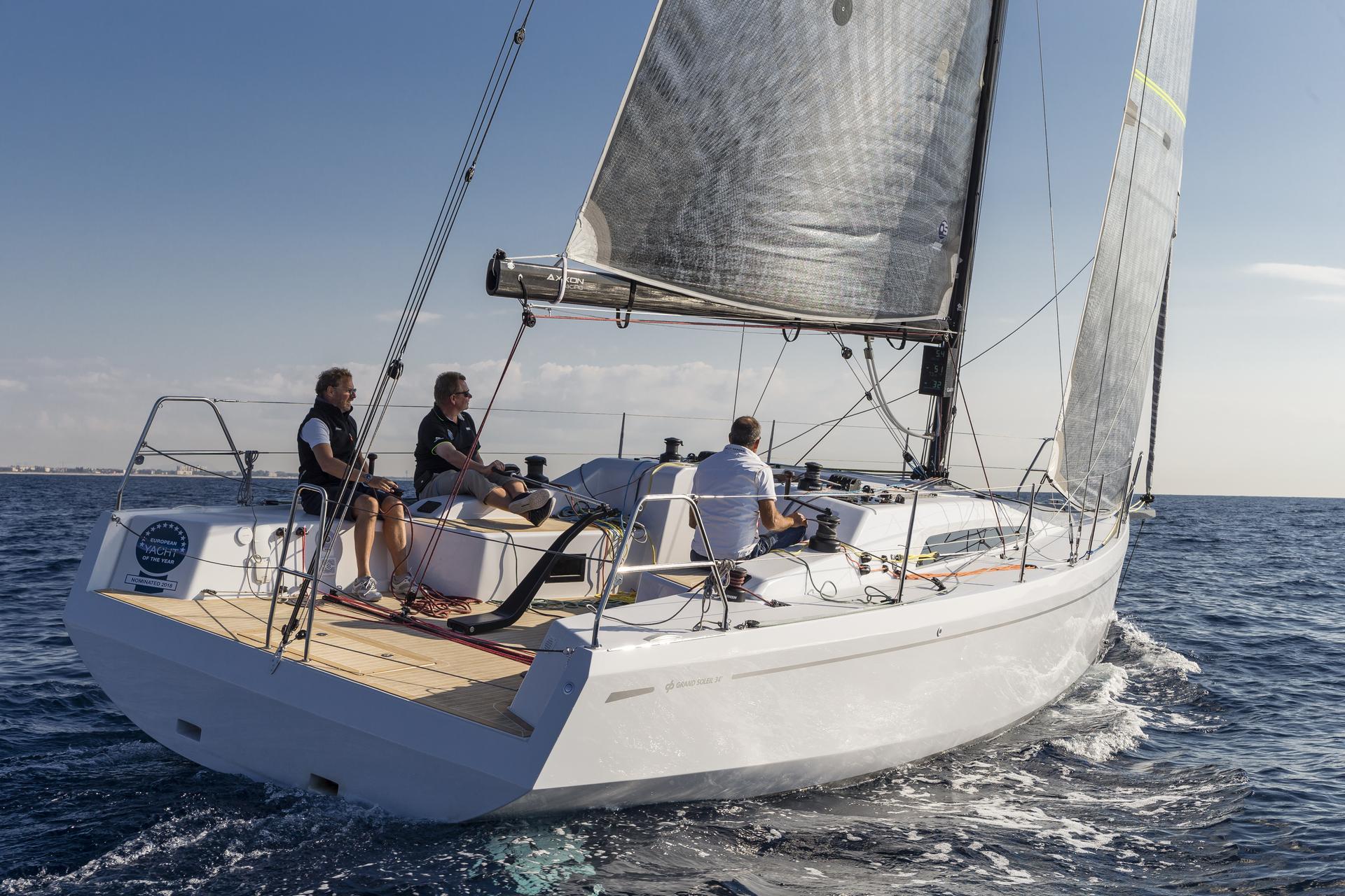 Парусная яхта Grand Soleil 34