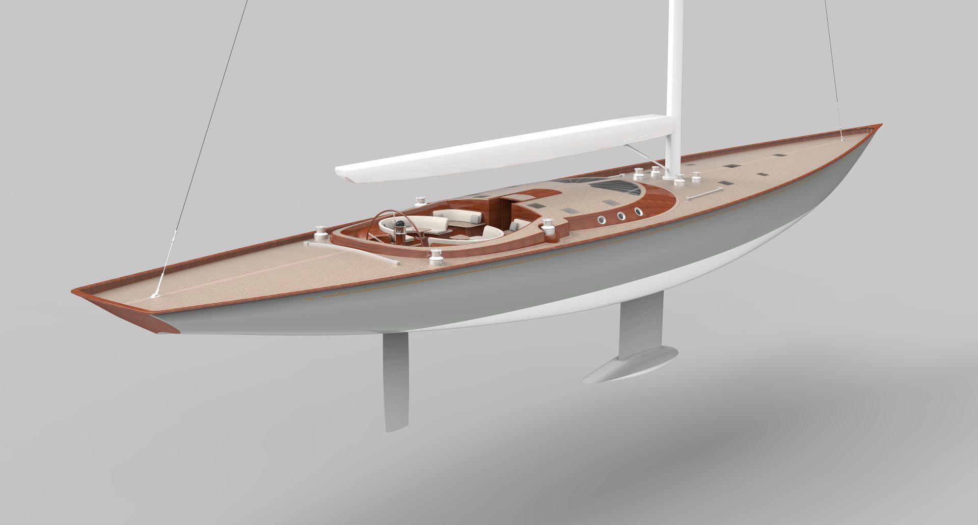 Парусная яхта Spirit 111