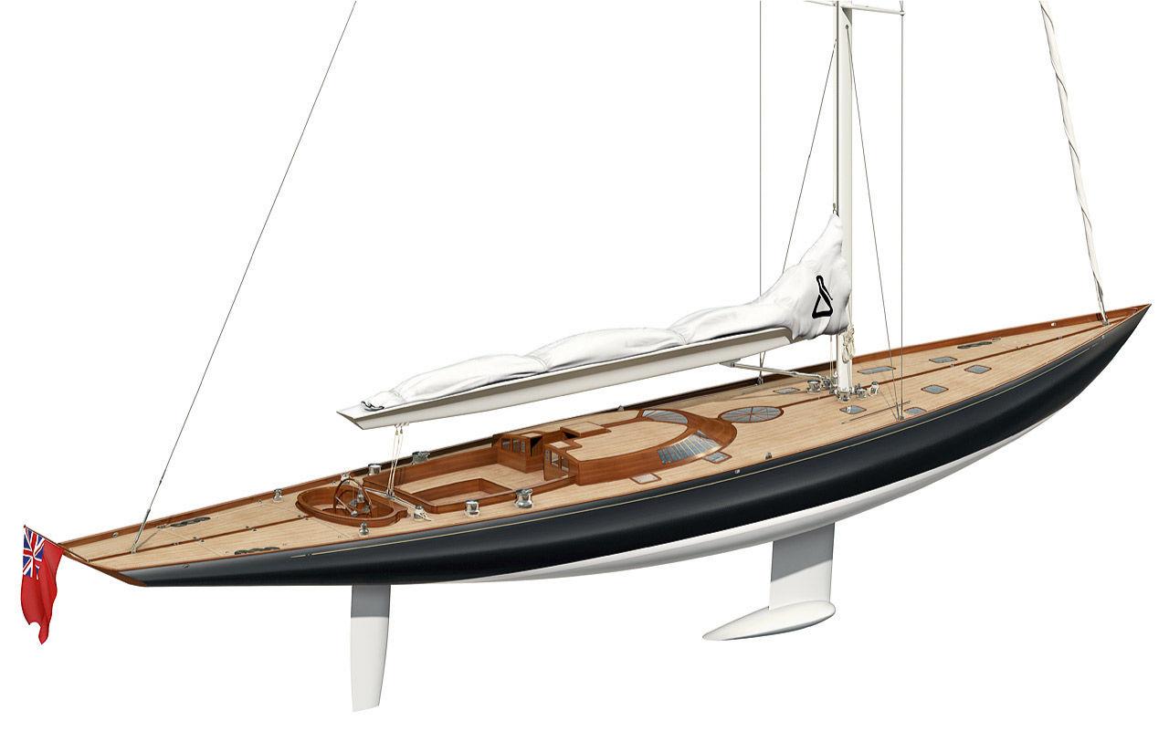 Парусная яхта Spirit 118