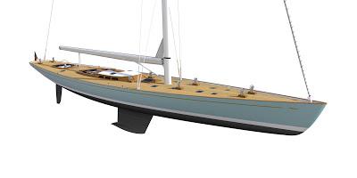 Парусная яхта Spirit 130