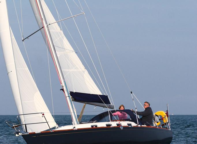 Парусная яхта Cornish Crabbers 35 Mystery