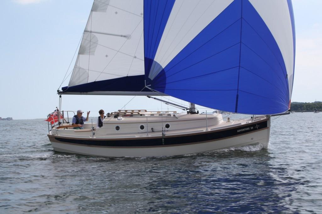 Парусная яхта Cornish Crabbers Adventure 26