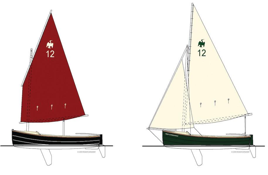 Парусная яхта Cornish Crabbers Cormorant 12
