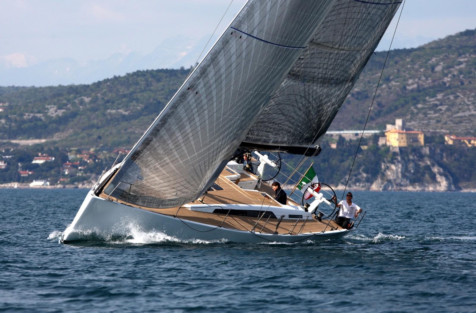 Парусная яхта Solaris 50