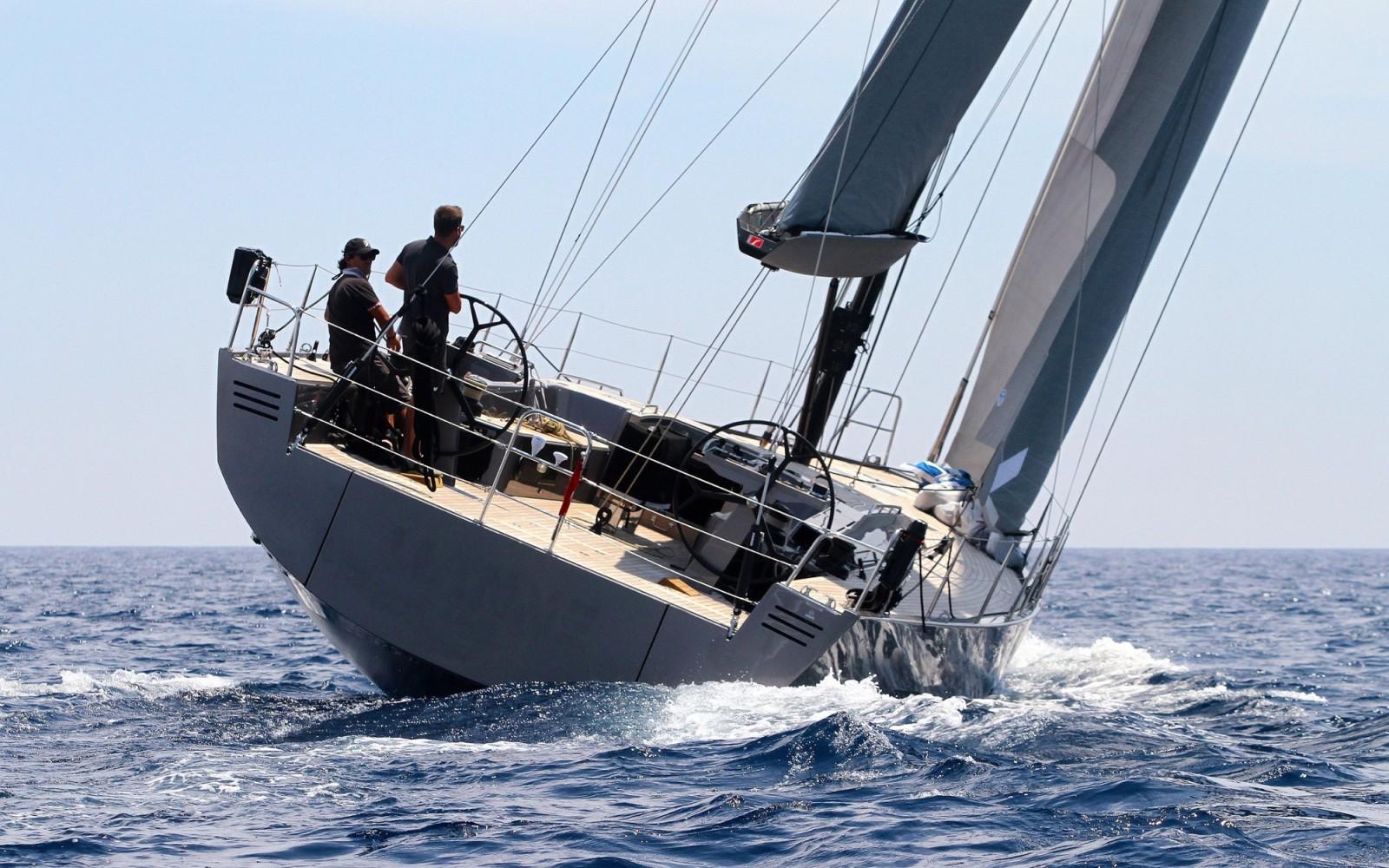 Парусная яхта Solaris 58