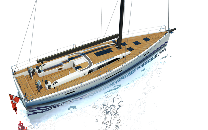 Парусная яхта X-Yachts Xp 55