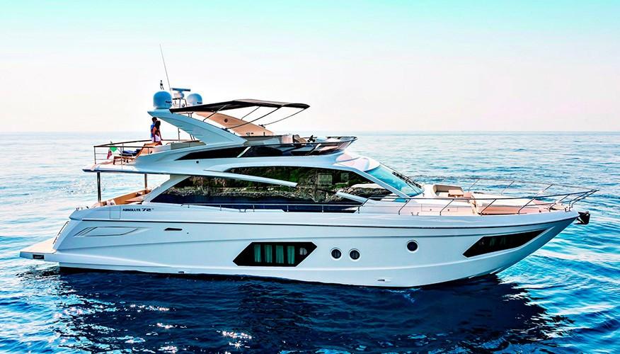 Моторная яхта Absolute 72 FLY