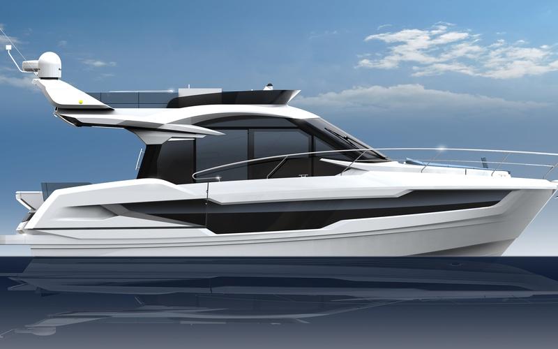 Моторная яхта Galeon 400 FLY