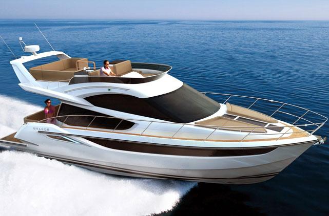 Моторная яхта Galeon 420 Fly