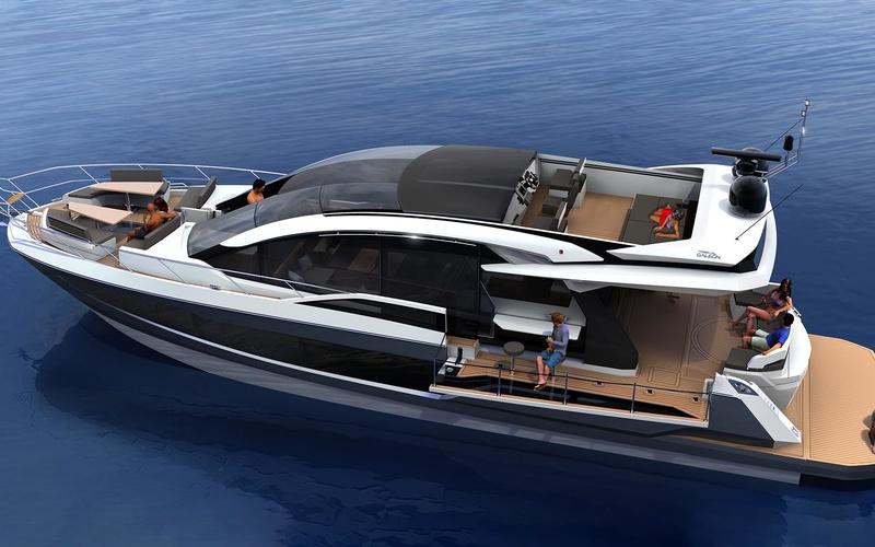 Моторная яхта Galeon 650 Skydeck