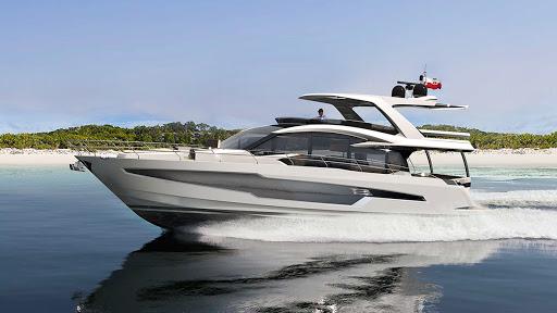 Моторная яхта Galeon 680 FLY