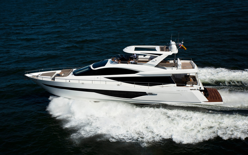 Моторная яхта Galeon 780 Crystal