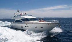 моторная яхта Horizon E62