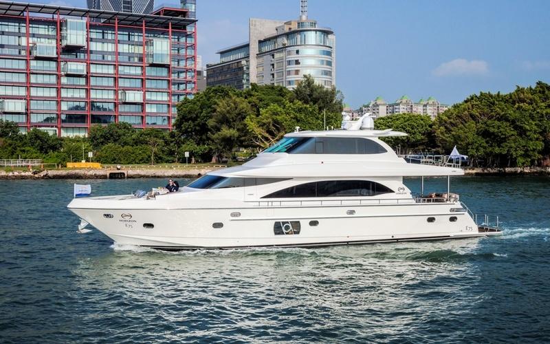 Моторная яхта Horizon E75
