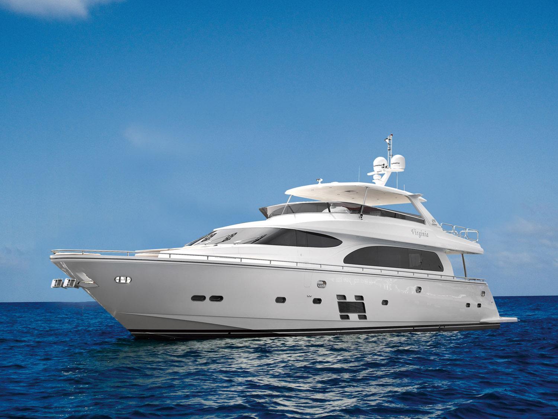 Моторная яхта Horizon E84