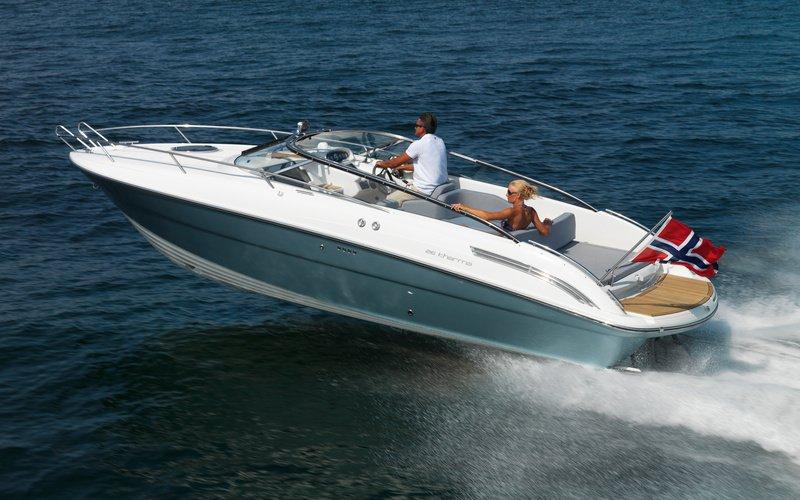 Моторная яхта Windy 26 Kharma
