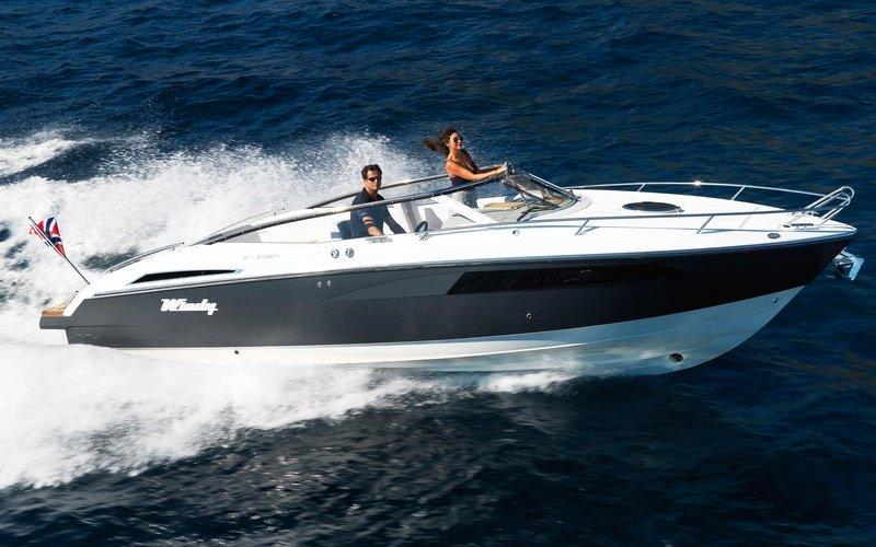 Моторная яхта Windy 27 Solano