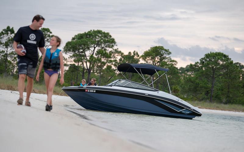 Моторная яхта Yamaha SX195